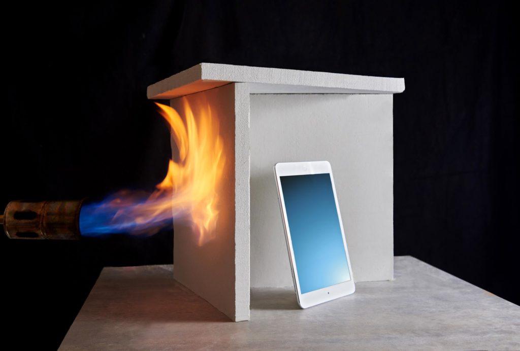Resistenza al fuoco materiali isolanti
