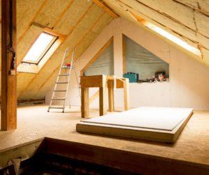 Isolamento termico sottotetto in legno
