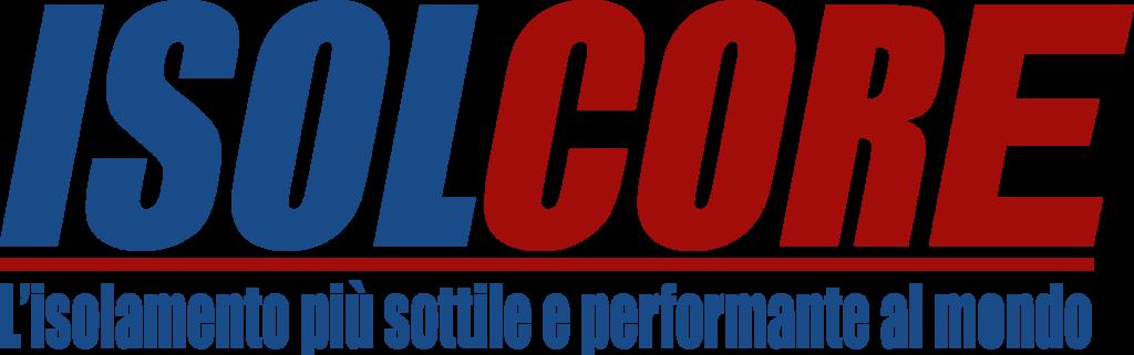 Logo Isolcore. L'isolamento più sottile e performante al mondo